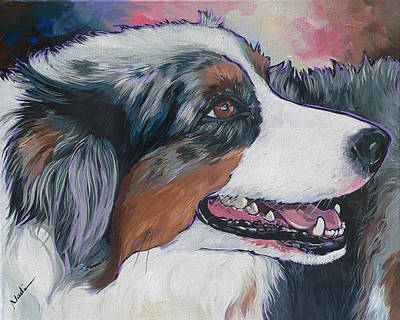 Painting - Marley by Nadi Spencer