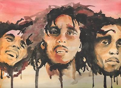 Marley Trio Art Print