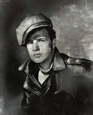 Celebrities Royalty-Free and Rights-Managed Images - Marlon Brando by Esoterica Art Agency