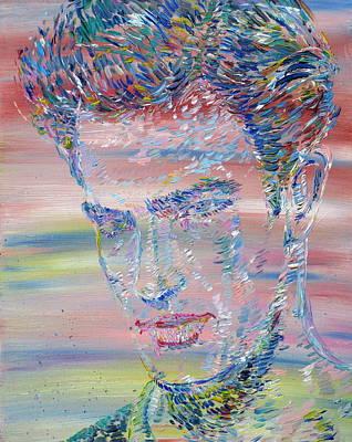 Painting - Marlon Brando - Oil Portrait by Fabrizio Cassetta