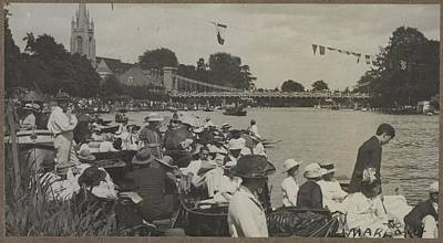 Marlow, 1919, By Herbert Green. Art Print by Celestial Images