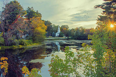 Photograph - Marlow, New Hampshire by John Rivera