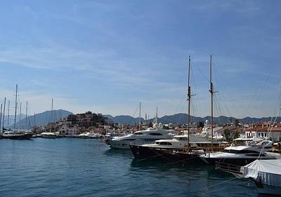 Photograph - Marmaris Yachting Marina by Tracey Harrington-Simpson
