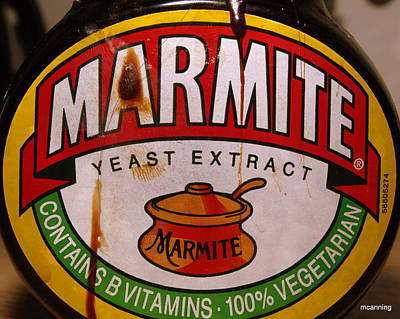 Photograph - Marmite by Michael Canning