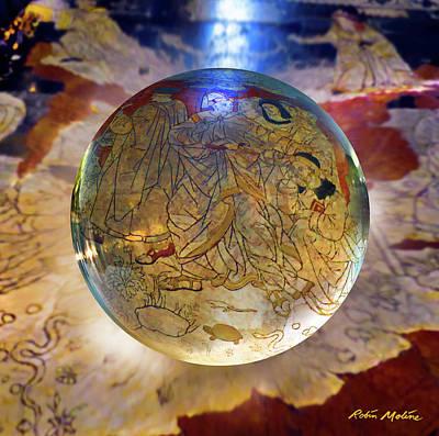 Digital Art - Marmo Di Siena  by Robin Moline
