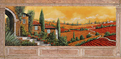 Carrara Marble Wall Art - Painting - Marmo Toscano by Guido Borelli