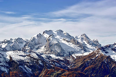 Photograph - Marmolada Italy by Jebulon