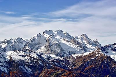 Photograph - Marmolada Italy by Jebulon