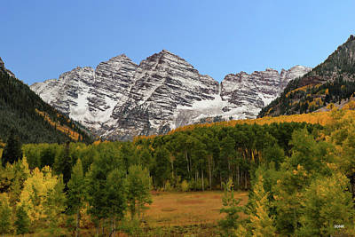 Photograph - Maroon Bells by Dana Sohr