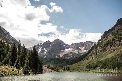Photograph - Maroon Bells by David Bearden