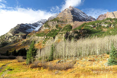 Photograph - Maroon Bells by Frank Townsley