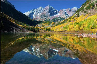 Photograph - Maroon Bells Glory by John Hoffman