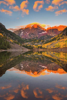Photograph - Maroon Bells Magic by Darren White