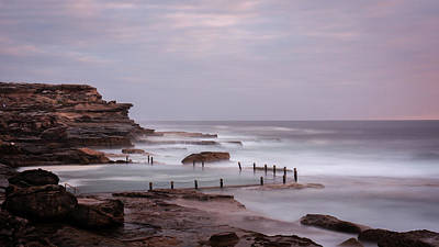Maroubra Photograph - Maroubra Rock Pool by Jeffrey So