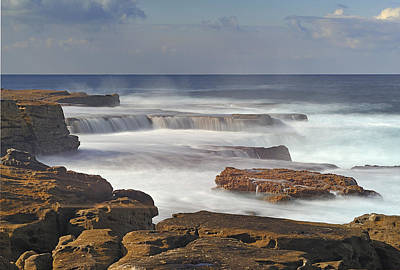 Maroubra Seascape 01 Art Print by Barry Culling
