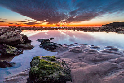 Maroubra Photograph - Maroubra Sunrise by Chris Sprotte