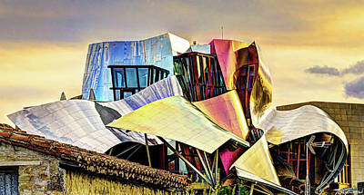 Photograph - Marques De Riscal Hotel - Frank Gehry by Weston Westmoreland