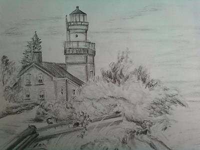 Marquette Michigan Lighthouse Original