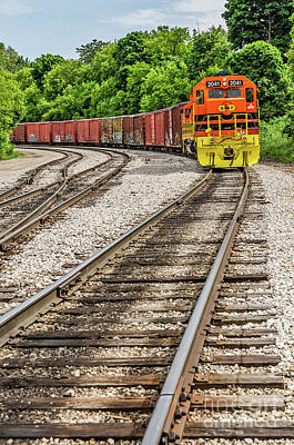 Photograph - Marquette Rail Carrier by Sue Smith