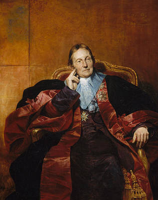 Painting - Marquis De Pastoret by Paul Delaroche