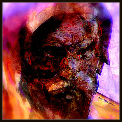 Digital Art - Marred Visage 2 by Kathleen Luther