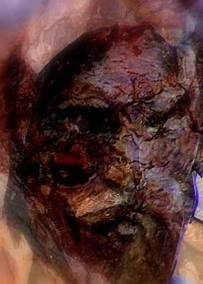 Digital Art - Marred Visage 3 by Kathleen Luther