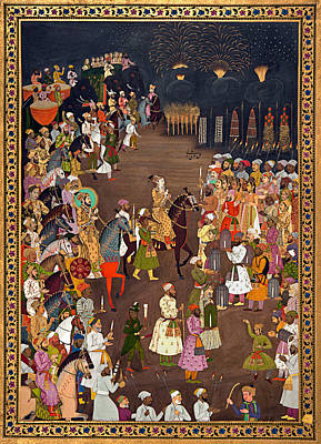 Photograph - Marriage Of Dara Shikoh by Granger