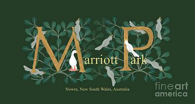 Digital Art - Marriott Park 2018 by Donna Huntriss