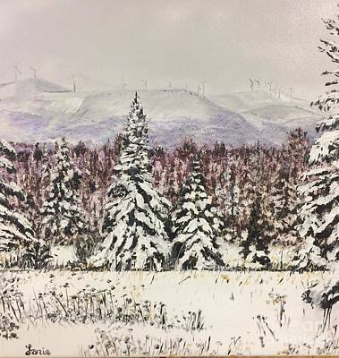 Mars Hill Mountain, Maine Original by Lorie Smith