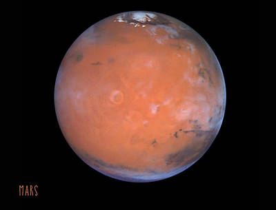 Tharsis Photograph - Mars  by Scarebaby Design