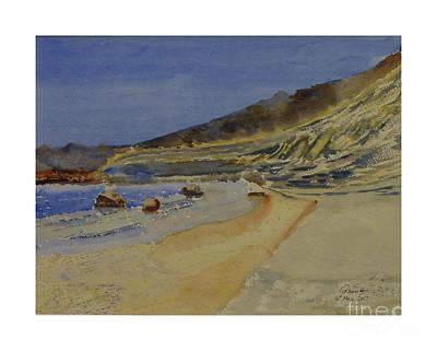 Painting - Marsalforn Gozo by Godwin Cassar