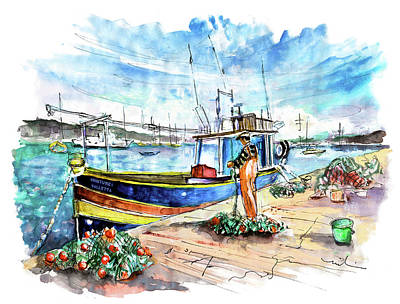 Painting - Marsaxlokk 04 by Miki De Goodaboom