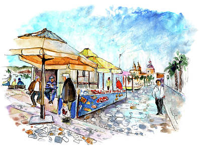 Painting - Marsaxlokk 07 by Miki De Goodaboom