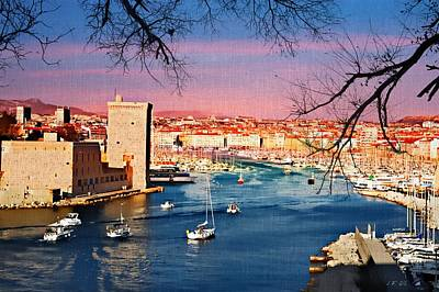 Photograph - Marseille by Jean Francois Gil