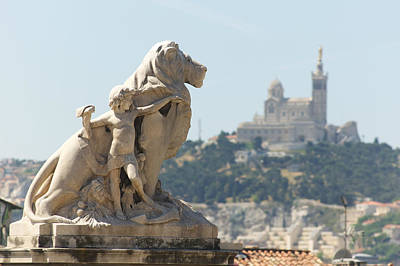 Photograph - Marseille-saint-charles Statue, France by Jeffrey Worthington