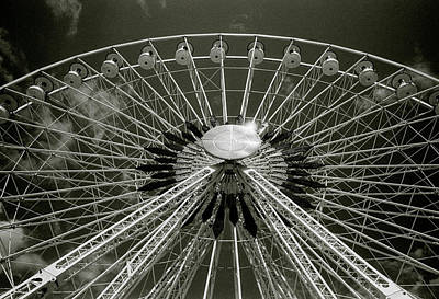 Photograph - Marseille Wheel by Shaun Higson