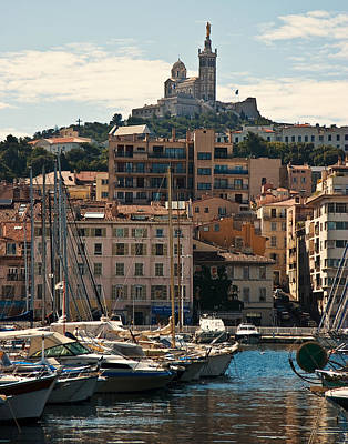 Art Print featuring the photograph Marseilles by Ron Dubin