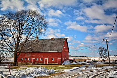 Photograph - Marsh Avenue Barn 2 by Bonfire Photography