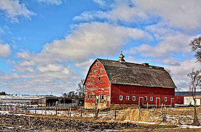 Photograph - Marsh Avenue Barn by Bonfire Photography