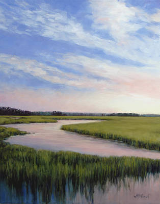Painting - Marsh Blush by Michel McNinch