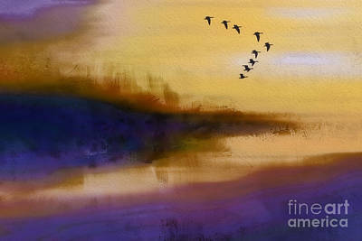 Photograph - Marsh Flight by Judi Bagwell