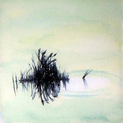 Marsh Painting - Marsh Grass by Carol Sprovtsoff