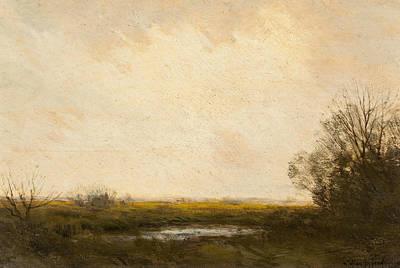 Painting - Marsh Lands by Julian Onderdonk