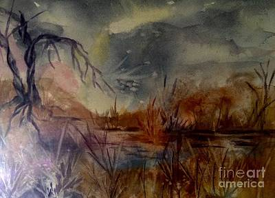 Painting - Marsh Magic by Ellen Levinson