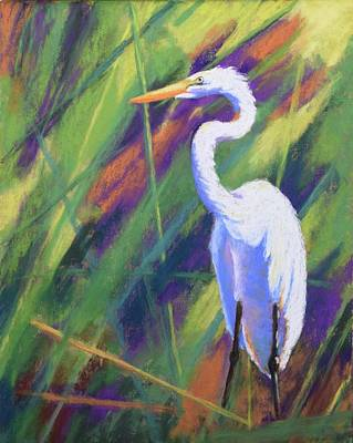 Painting - Marsh Master by Nancy Jolley