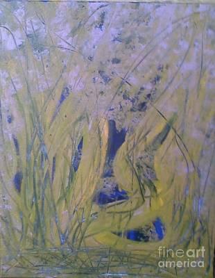 Marsh Moment Art Print by Leslie Revels Andrews
