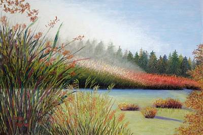Painting - Marsh Morning by Polly Castor