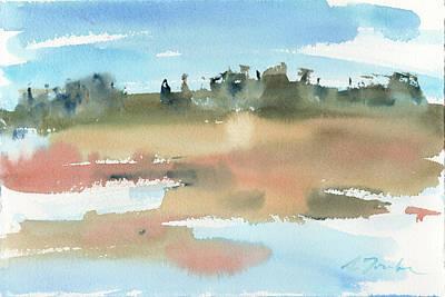 Painting - Marsh No.48 by Sumiyo Toribe