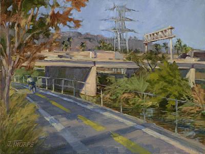 Painting - Marsh Park by Jane Thorpe