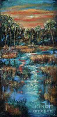 Painting - Marsh Reflections by Linda Olsen